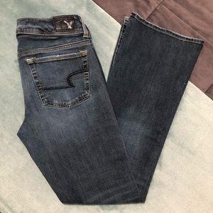 American Eagle Jeans-Super Stretch/Kick Boot/Short